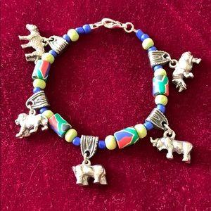 Jewelry - NWOT- African Charm Bracelet